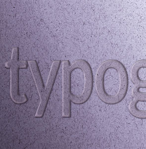 Branding and logo design typography