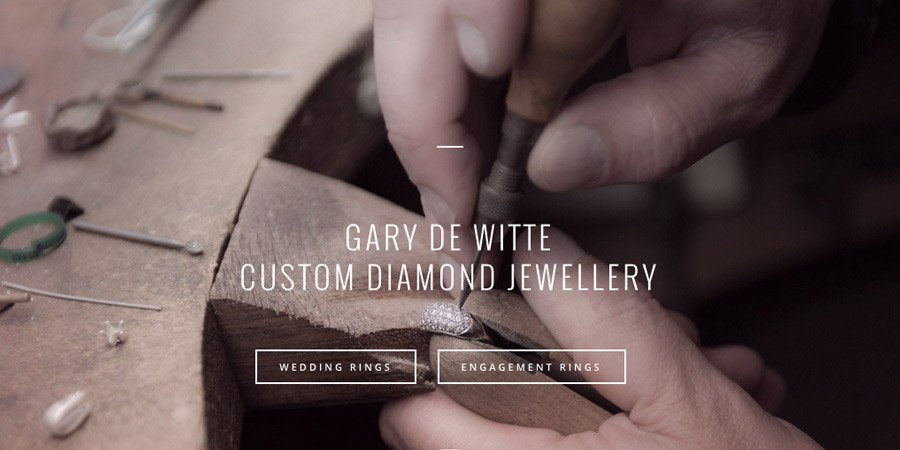 GDW Jewellery Web Design Auckland