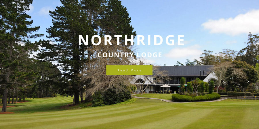 Web design Auckland Northridge Country Lodge website