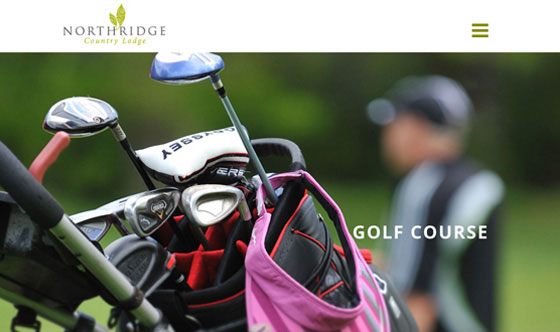 Northridge Country Lodge Auckland web design development